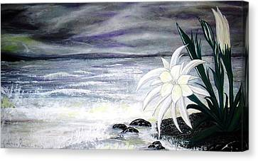 Storm In Spring Canvas Print by Fabrizio Mapelli