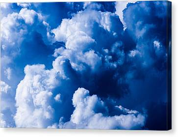 Summer Thunderstorm Canvas Print - Storm Is Coming - Featured 3 by Alexander Senin
