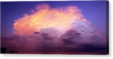 Storm Merge Canvas Print