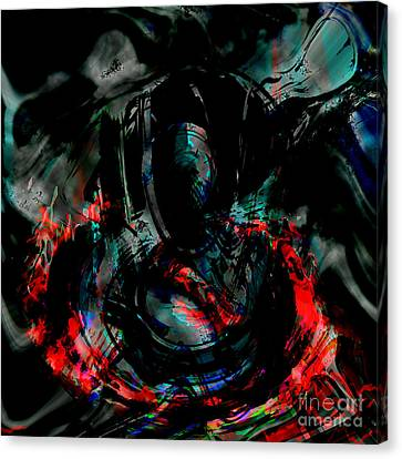 Canvas Print - Soul On Fire by Ashantaey Sunny-Fay