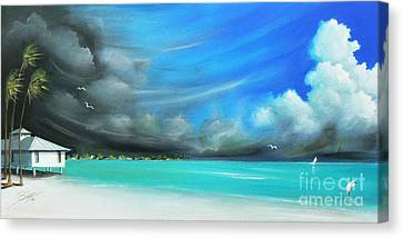 Storm On The Move Canvas Print