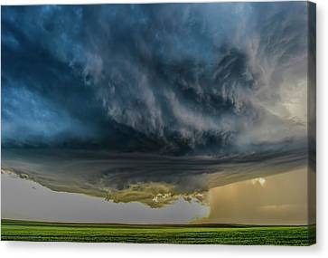 Storm Over Greenfield Canvas Print