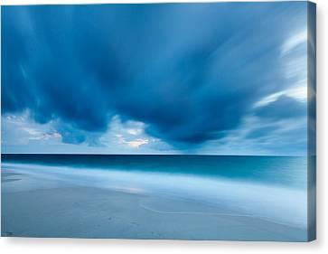 Storm Over The Sea, Sylt Canvas Print