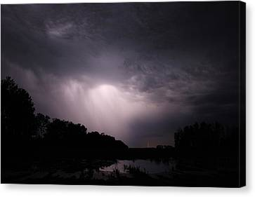 Storm Over Wroxton Canvas Print