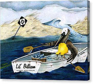 Storm Rashins Canvas Print