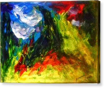 Storm.. Canvas Print by Rooma Mehra