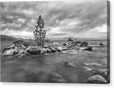 Storm Runs Through Canvas Print by Jon Glaser