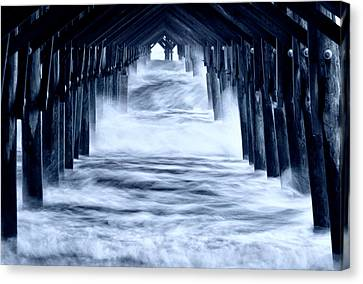 Storm Surge Canvas Print by Kate Silvia