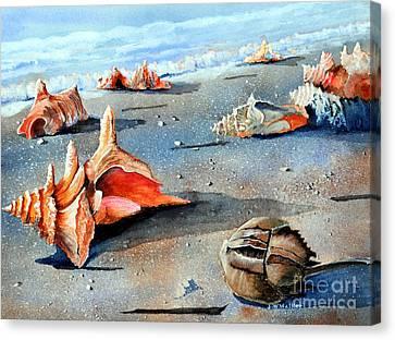 Storm Treasures Canvas Print