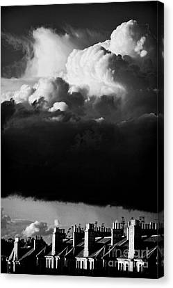 Stormclouds Approaching Canvas Print