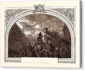 Storming Of Badajoz, Under Wellington, April 6th Canvas Print