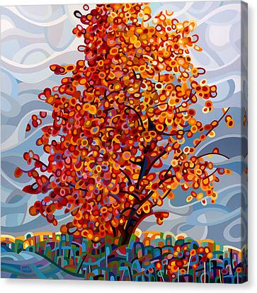 Stormlight Canvas Print by Mandy Budan