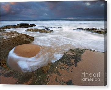 Stormrise Whirlpool Canvas Print by Mike Dawson