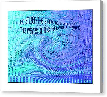 Storms Of Life Canvas Print