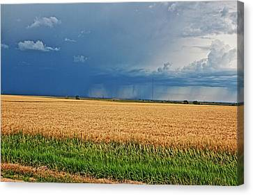 Storms On The Plains Canvas Print by Jason Drake