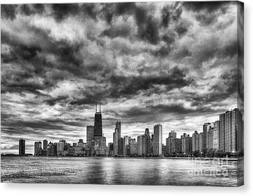 Storms Over Chicago Canvas Print