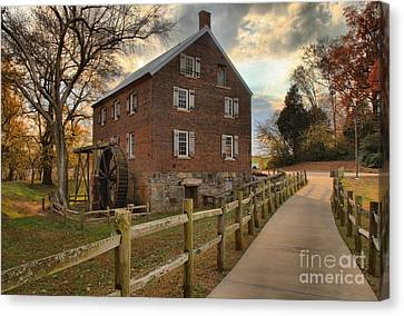 Storms Over Kerr Mill Canvas Print by Adam Jewell