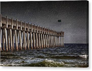 Stormscape Canvas Print by Sennie Pierson