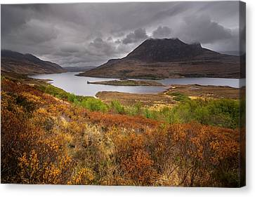 Stormy Afternoon In Scotland Canvas Print