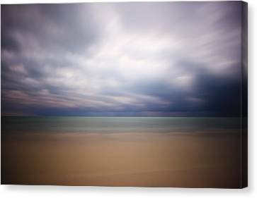 Stormy Calm Canvas Print by Adam Romanowicz