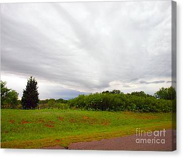 Stormy Cloud Canvas Print by Mickey Harkins