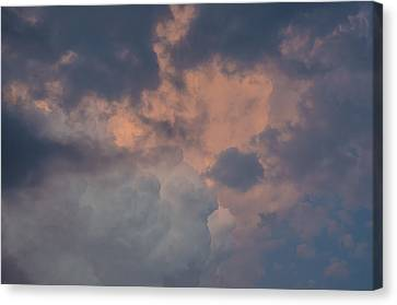 Stormy Clouds Viii Canvas Print by Bradley Clay