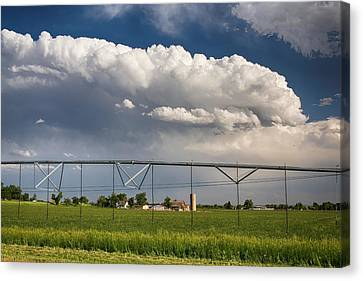 Stormy Country Skies Canvas Print