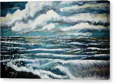 Stormy Day Canvas Print by Fabrizio Mapelli