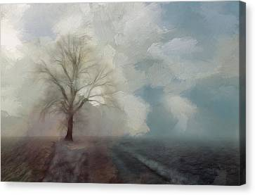Stormy Day Canvas Print by Steve K