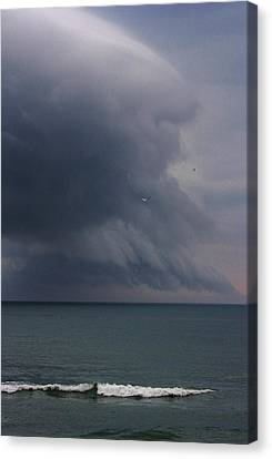 Stormy Days Canvas Print by Bruce Bley