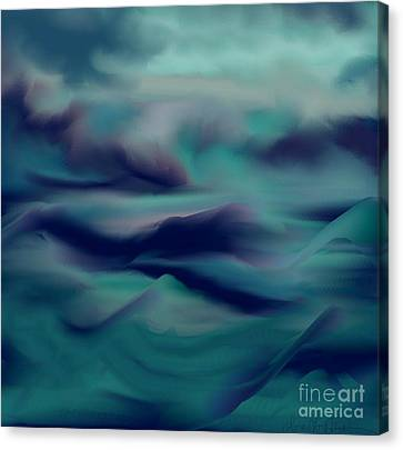 Stormy Days Canvas Print by Lori  Lovetere