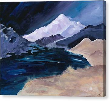 Stormy Mountain Canvas Print