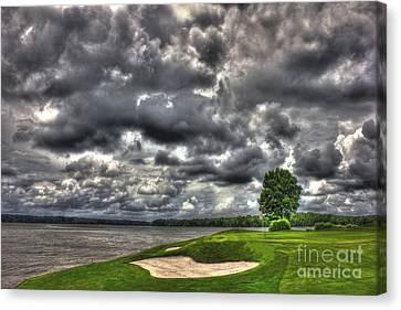 Stormy Number 4 Canvas Print by Reid Callaway