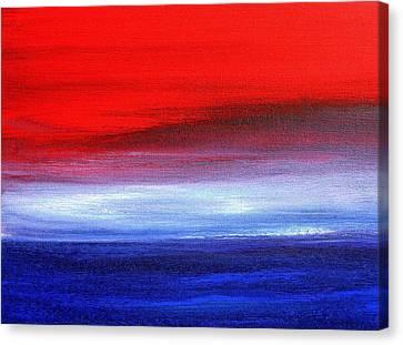 Stormy Sea 2012 Canvas Print