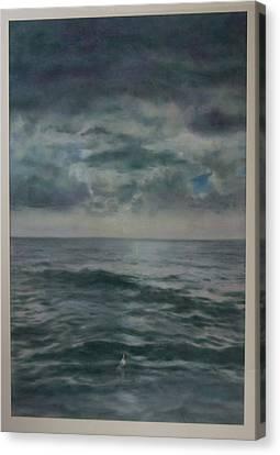 Stormy Sea Canvas Print by Paez  Antonio