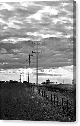 Stormy Skies Canvas Print by Lisa Knechtel