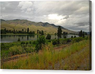 Stormy Skies Over Montana Canvas Print