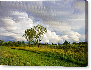 Stormy Skies Stacked Canvas Print