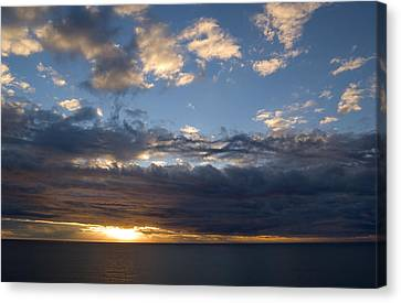 Canvas Print featuring the photograph Stormy Sky by Bob Pardue
