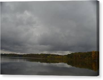 Stormy Sky In Autumn Canvas Print