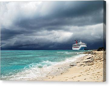 Storm Is Coming... Canvas Print