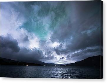 Stormy Sky Canvas Print by Tommy Eliassen