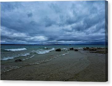Stormy Straits Canvas Print