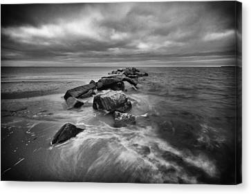 Stormy Sunken Meadow Canvas Print