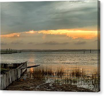 Stormy Sunset Canvas Print
