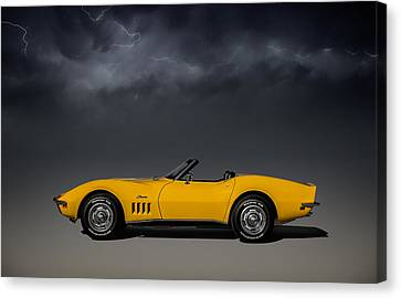 Stormy Weather Canvas Print by Douglas Pittman