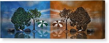Oak Canvas Print - Story by Betsy Knapp