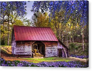 Storybook Farms Canvas Print by Debra and Dave Vanderlaan