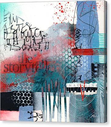 Contrast Canvas Print - Storyteller Drama by Laura  Lein-Svencner