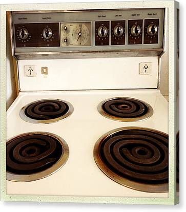 Stove Top Canvas Print by Les Cunliffe